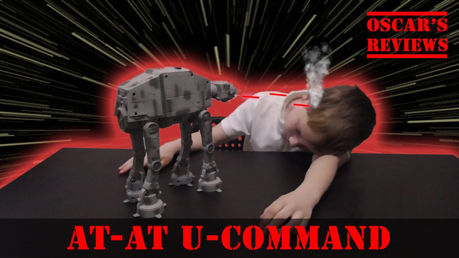 Star Wars AT-AT U-Command Remote Control Toy Review