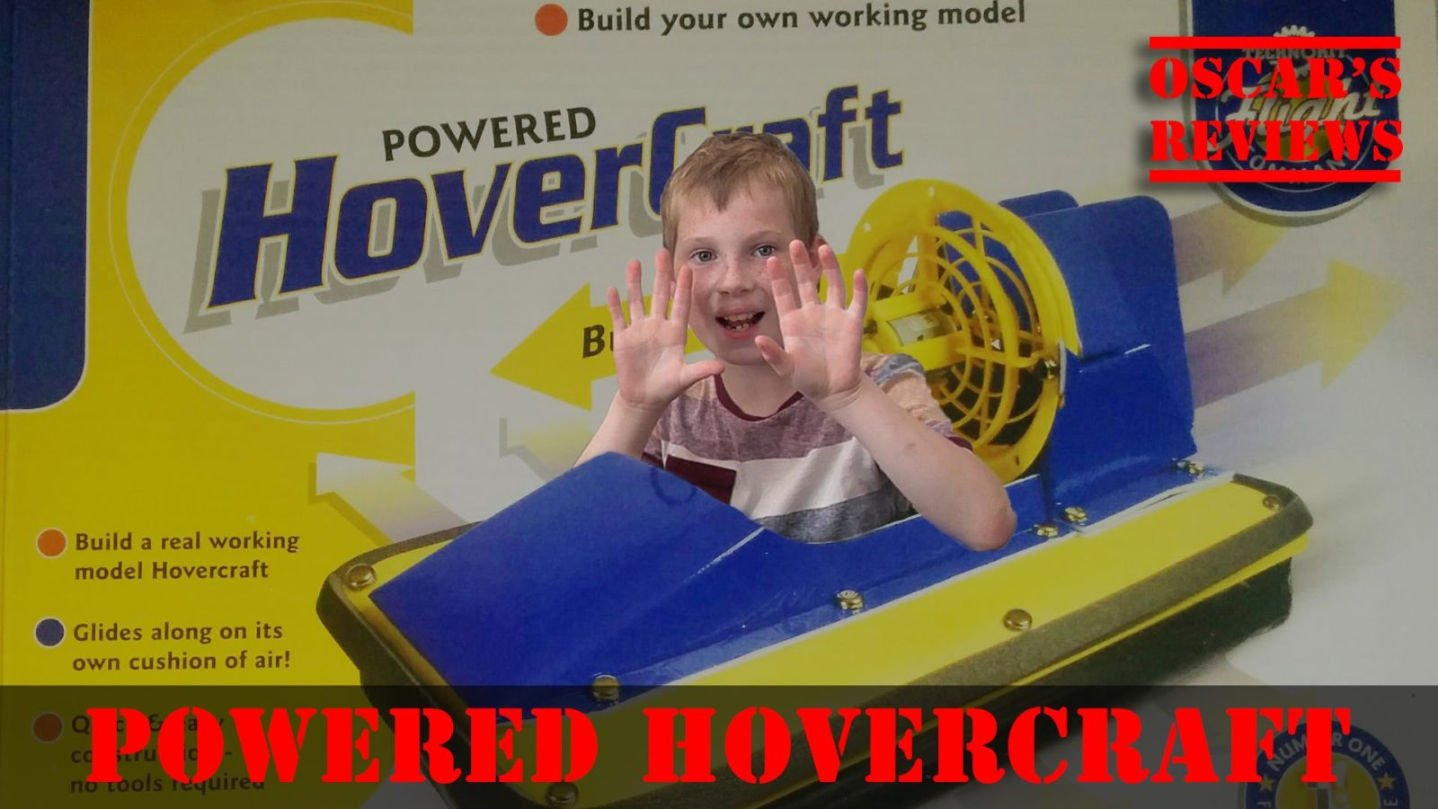 Interplay Powered Hovercraft Children's Toy Review