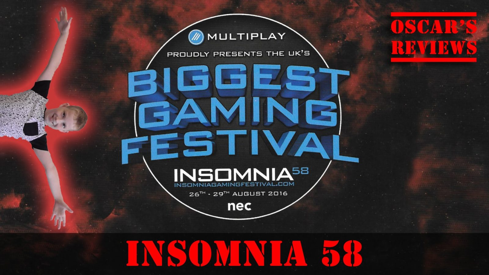 Insomnia 58 Gaming Festival – Sunday Highlights: Tomohawk, Bigbst4tz2, Robot Wars, Roblox and More