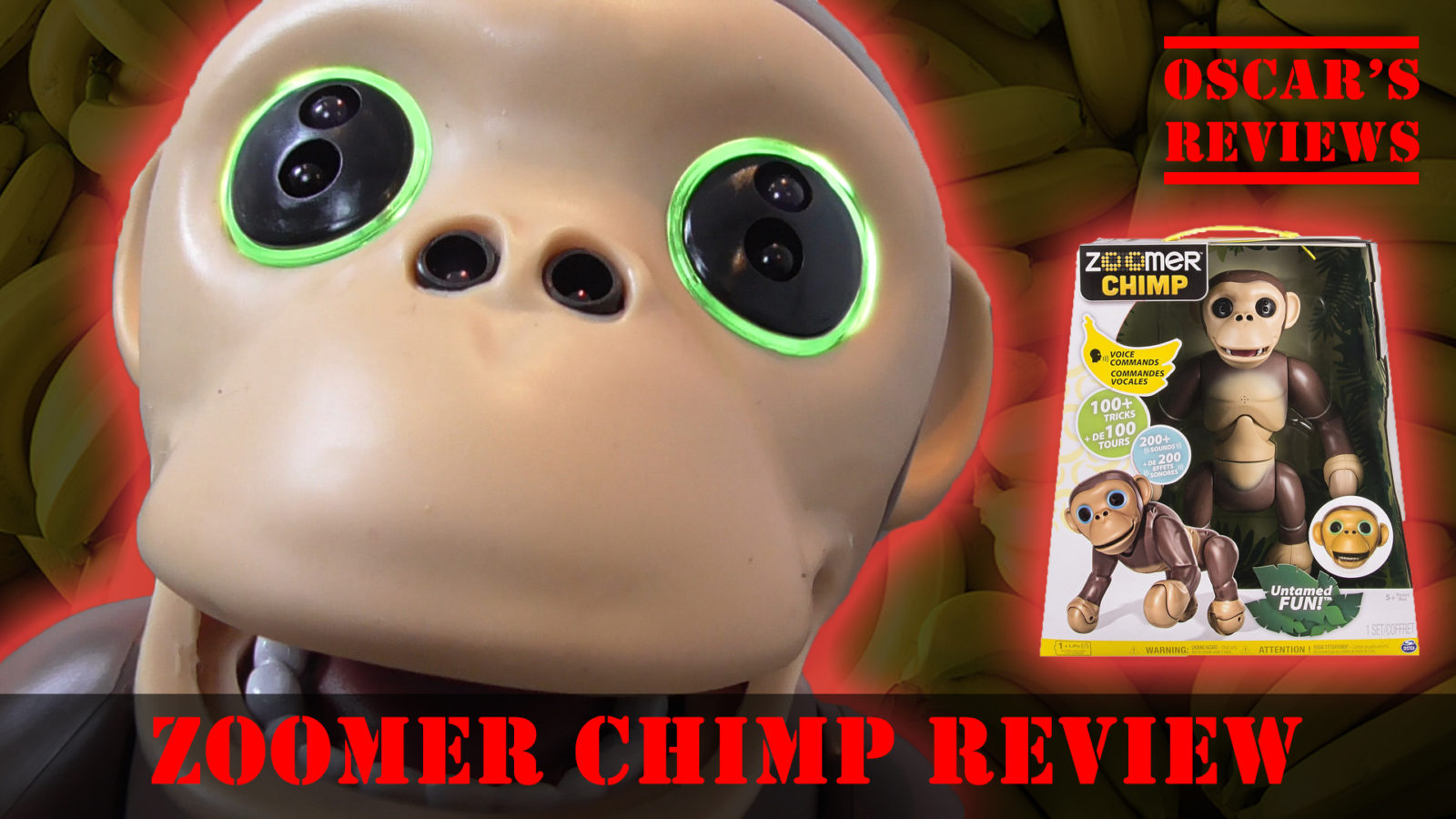 Zoomer Chimp: A Kids' Review of SpinMaster's Cheeky Monkey – Top Christmas Toys!