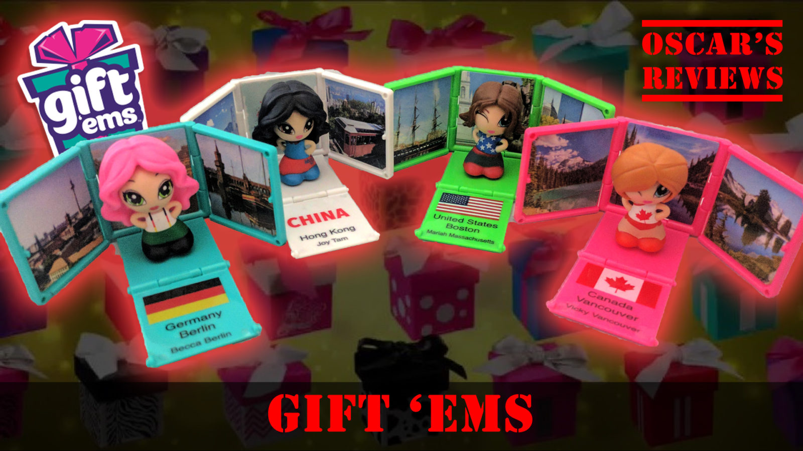 Gift 'Ems – A Kid's Review of These Cute Little Stocking Fillers!
