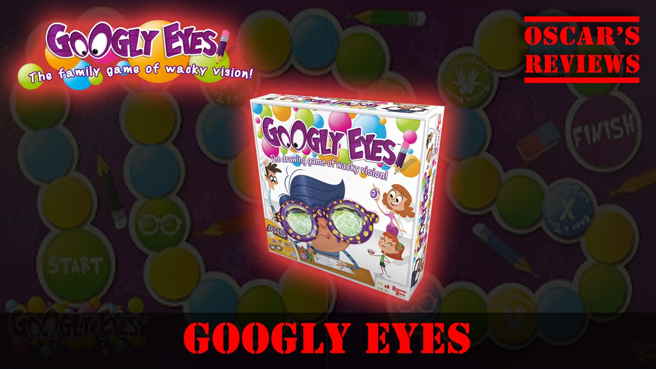 Kids Playing Googly Eyes! The Family Game of Wacky Vision – Drawing Game Review