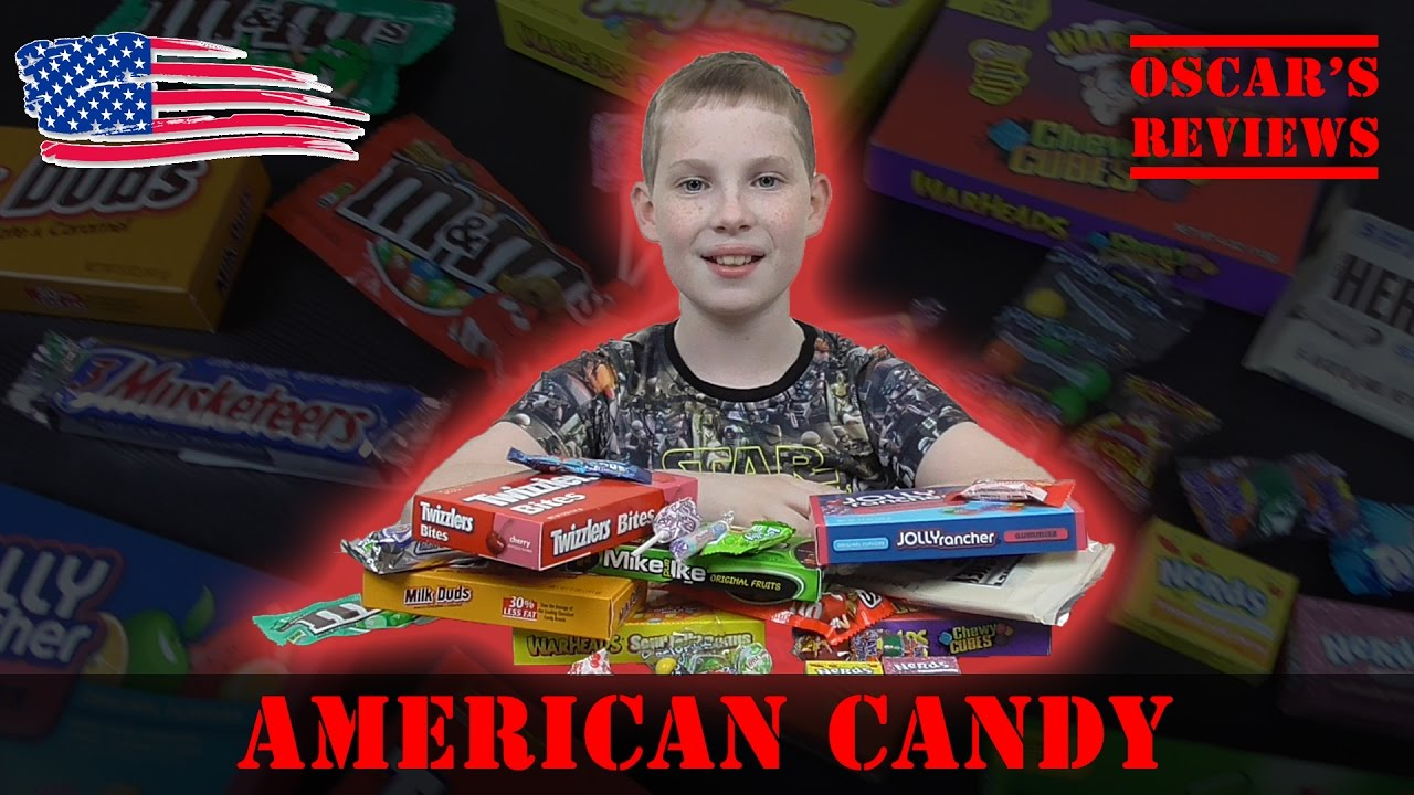 British Kid Tries American Candy. The Result? American Sweets are Weird!