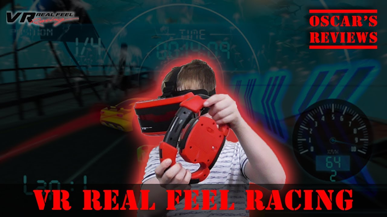 Real Feel VR Racing – A Kid's Demo and Review of This 3D Racing App with Bluetooth Steering Wheel