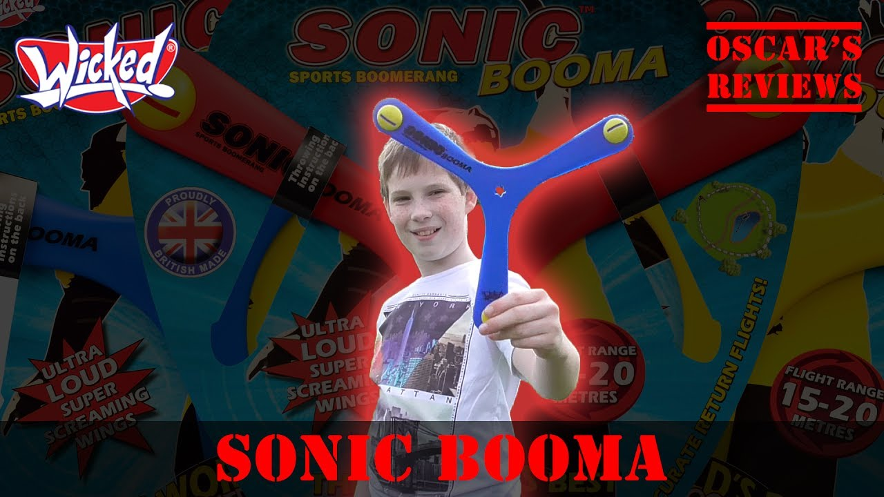 Testing the Sonic Booma Boomerang from Wicked Vision