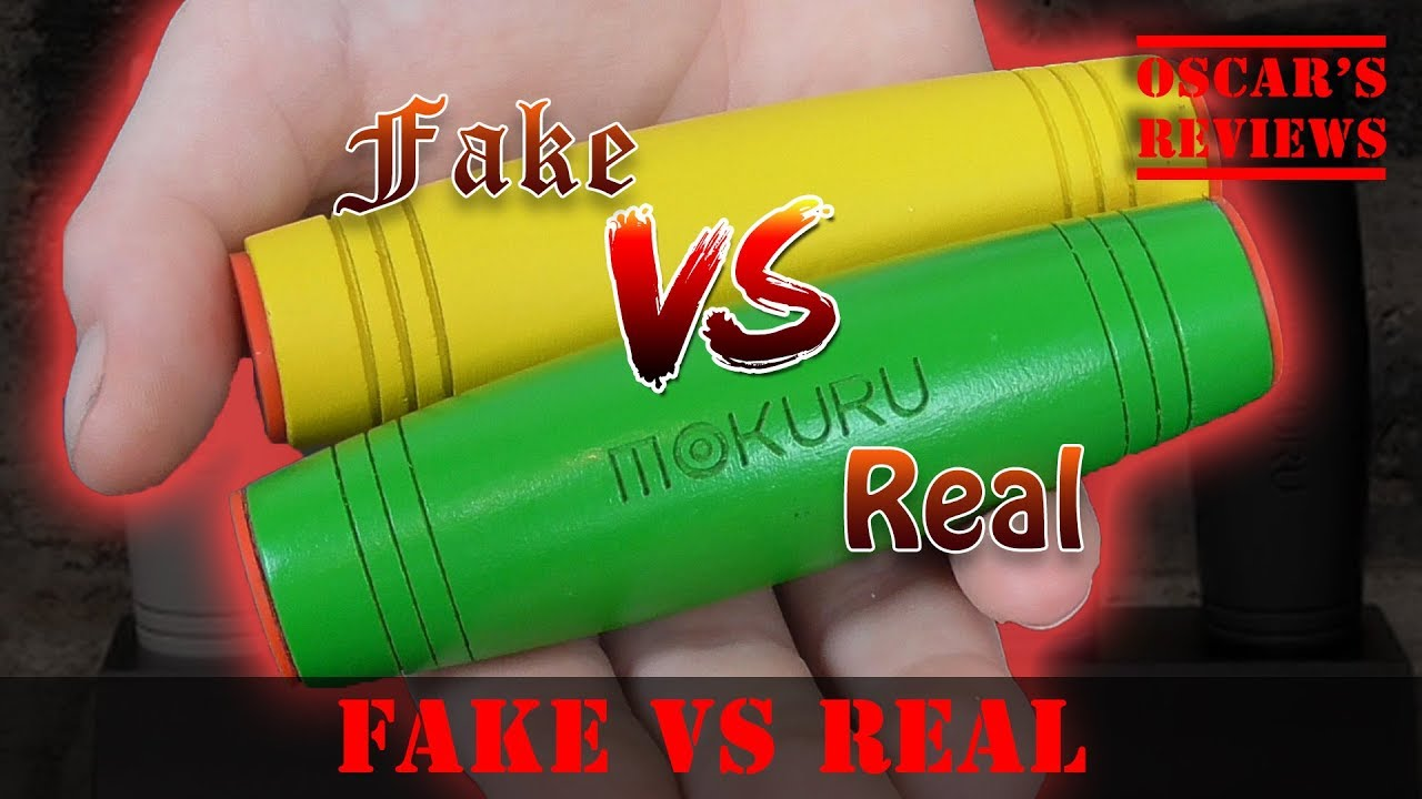 How to Spot a Fake Mokuru Fidget Stick: FAKE vs REAL