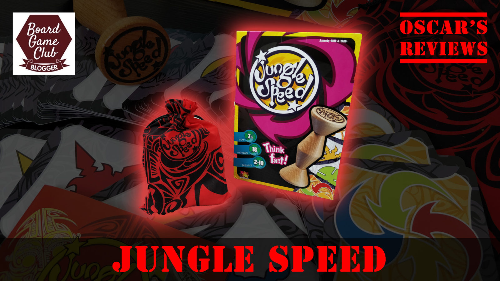 Trying Out the Jungle Speed Game – Are We Fast Enough?