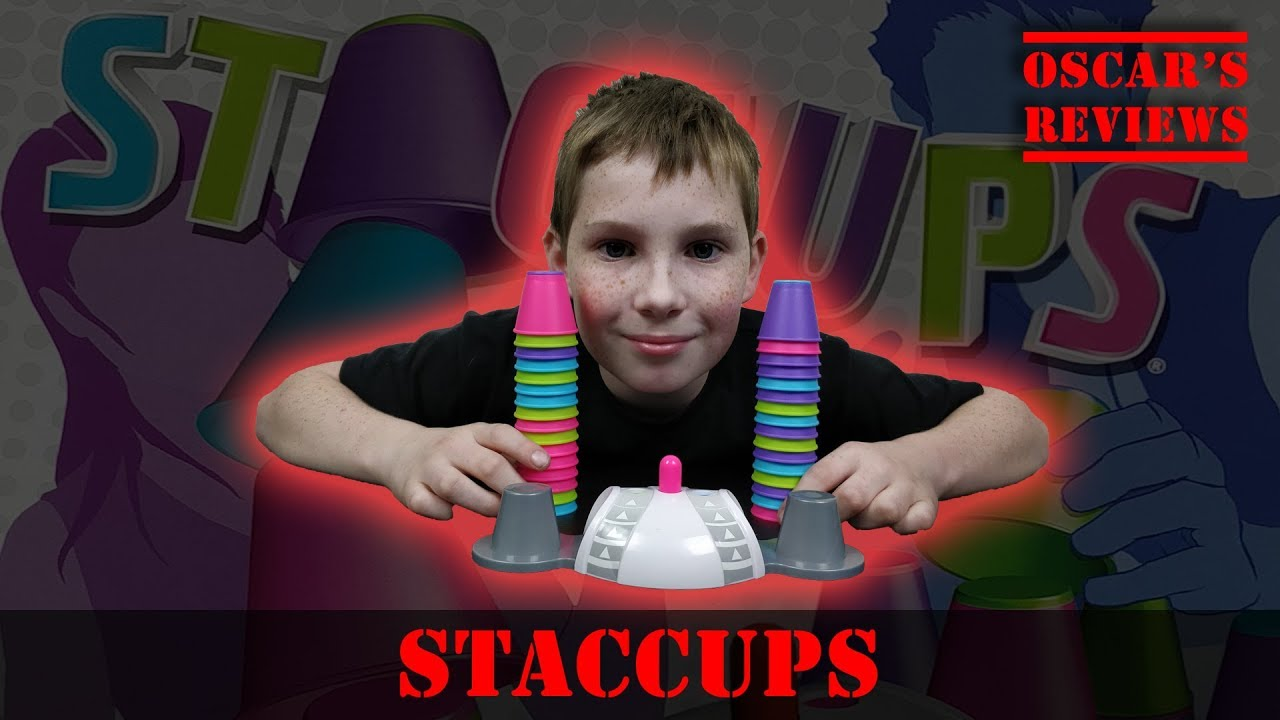 Staccups: Fast-Paced Matching Game; Great for Families and Parties. Demo and Review.