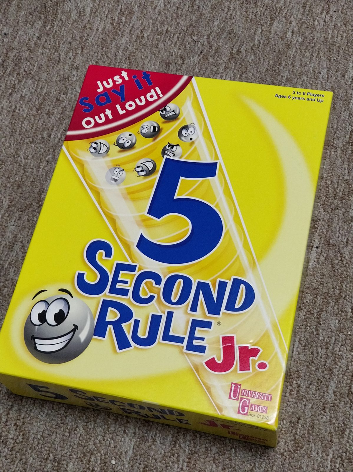 5 second rule game instructions