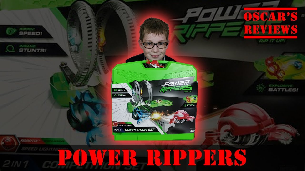Feel The Speed with Power Rippers 2-in-1 Competition Set