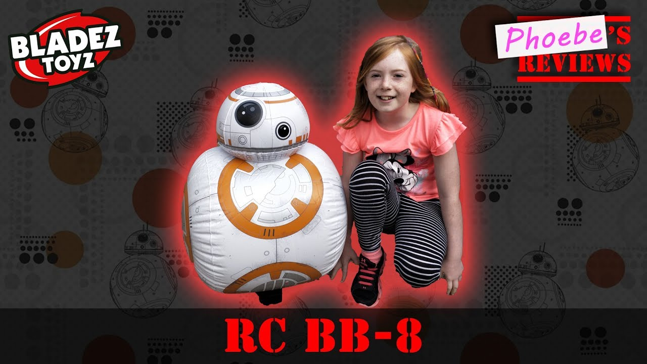 Height Challenge: Girl v Life Size BB-8 Radio Control Toy from Star Wars