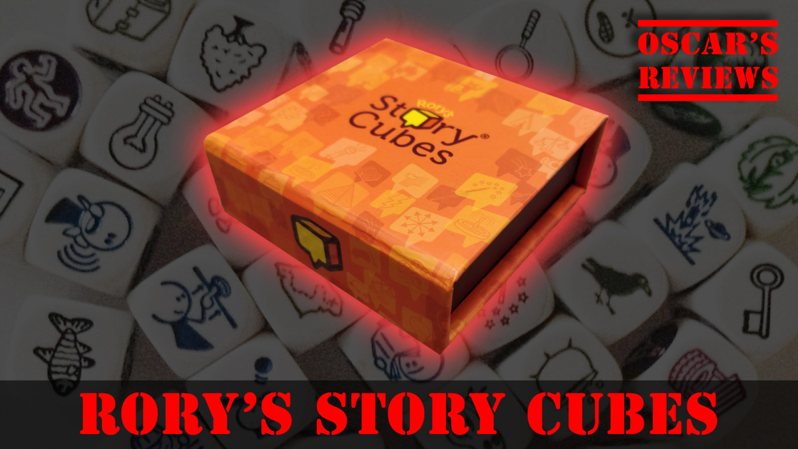 A Magical Lock-Picking Flying Postman?! It Must be Rory's Story Cubes!