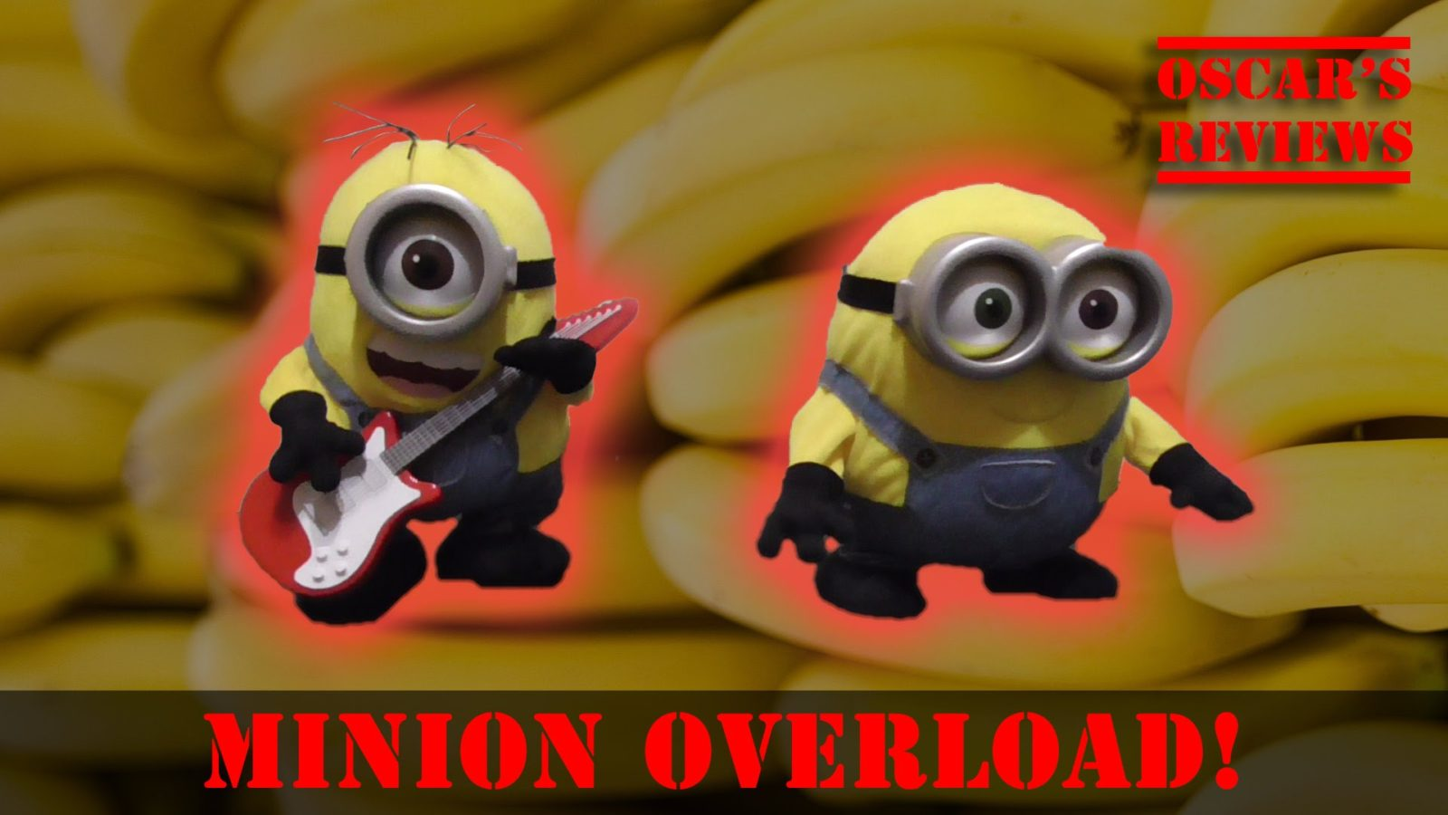 Minions: Rock N Roll Stuart and Sing N Dance Bob Toy Review / Demo