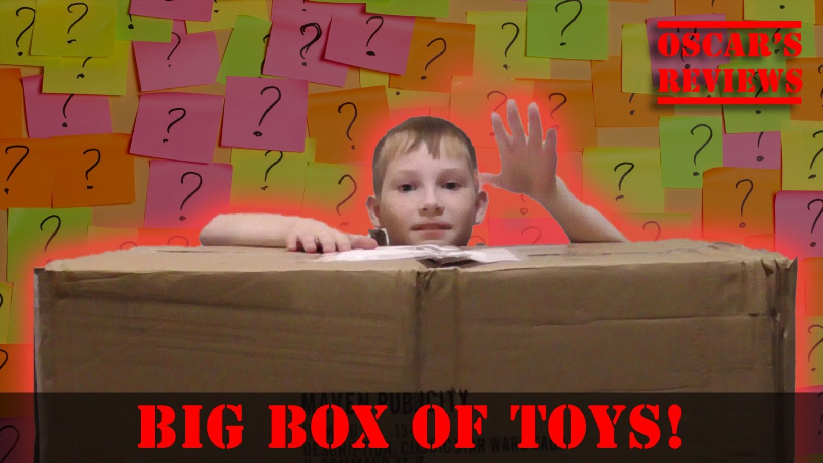 Gigantic, Mystery Box of Toys!