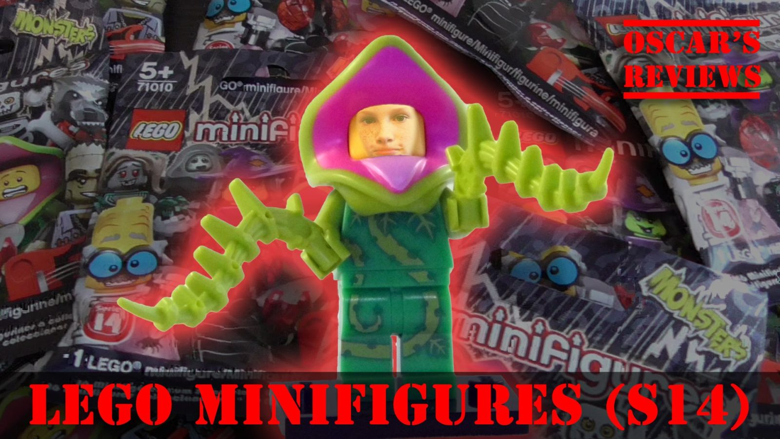 LEGO Minifigures Series 14 (Halloween Monsters) – Blind Bag Opening