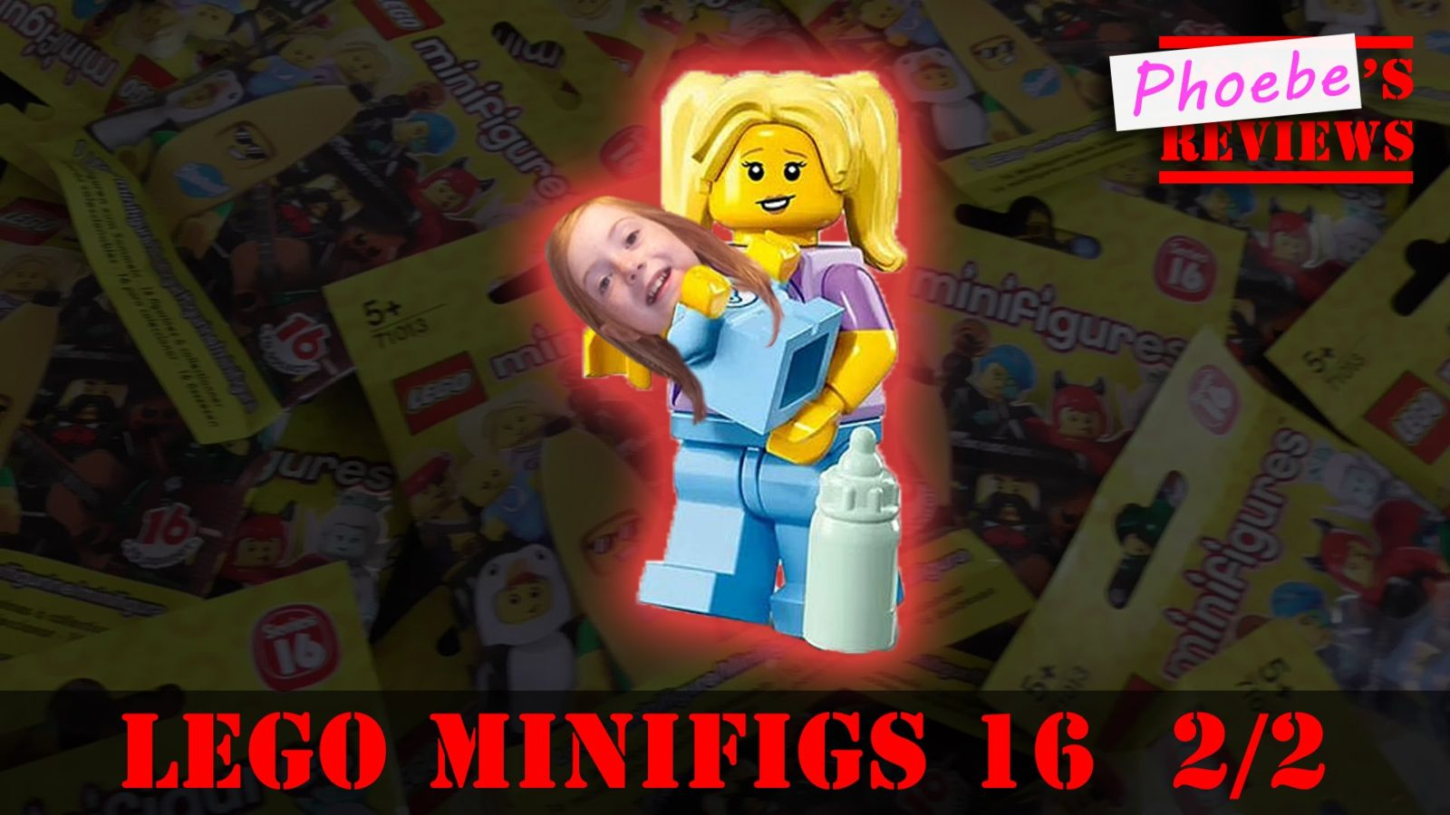 Lego Minifigures Series 16 Kids Blind Bag Opening – Mum & Baby! [2 of 2]