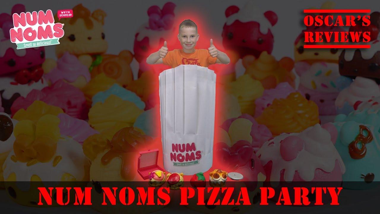 Disgusting, Weird and Strangely Tasty Pizza Challenge with Num Noms #MiniChefs