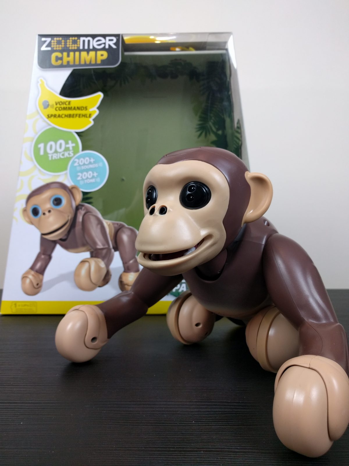 Zoomer Chimp A Kids Review Of Spinmaster S Cheeky Monkey