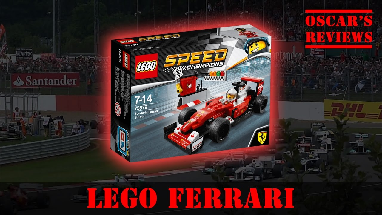 LEGO Speed Champs Scuderia Ferrari SF16-H (75879) – Build and Review