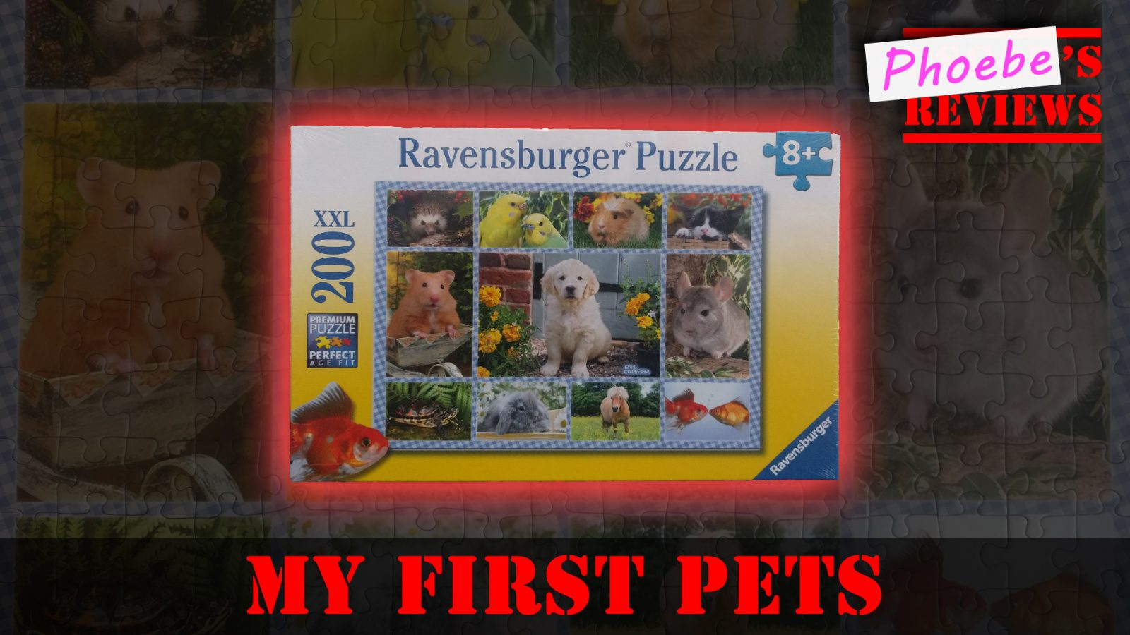 Ravensburger My First Pets XXL 200pc Jigsaw Puzzle – A Kid's Review