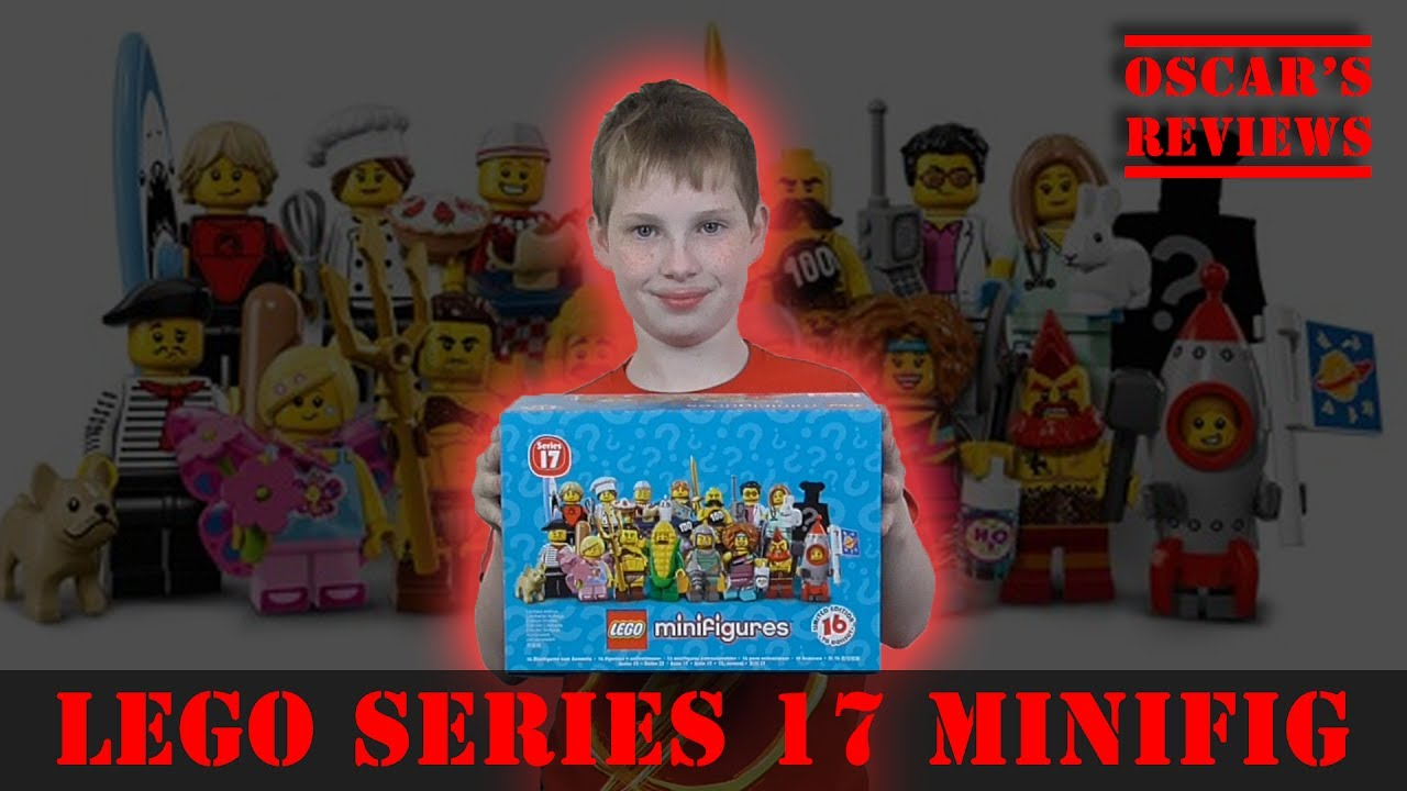 LEGO Minifigures Series 17 Blind Bag Opening and Review – Corn Man, Surfer, Rocket Boy and More!