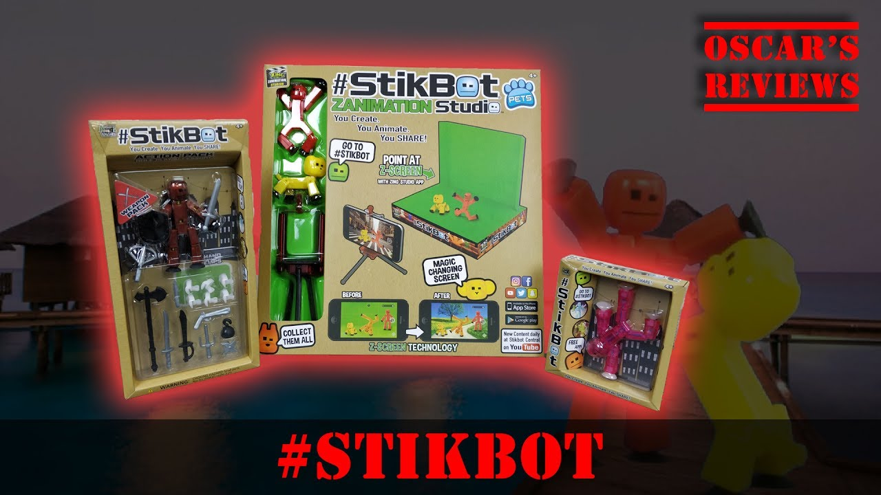 Drowning Dog Saved By Mysterious Man in Red! Hands-on Demo and Review of #StikBots Zanimation Studio