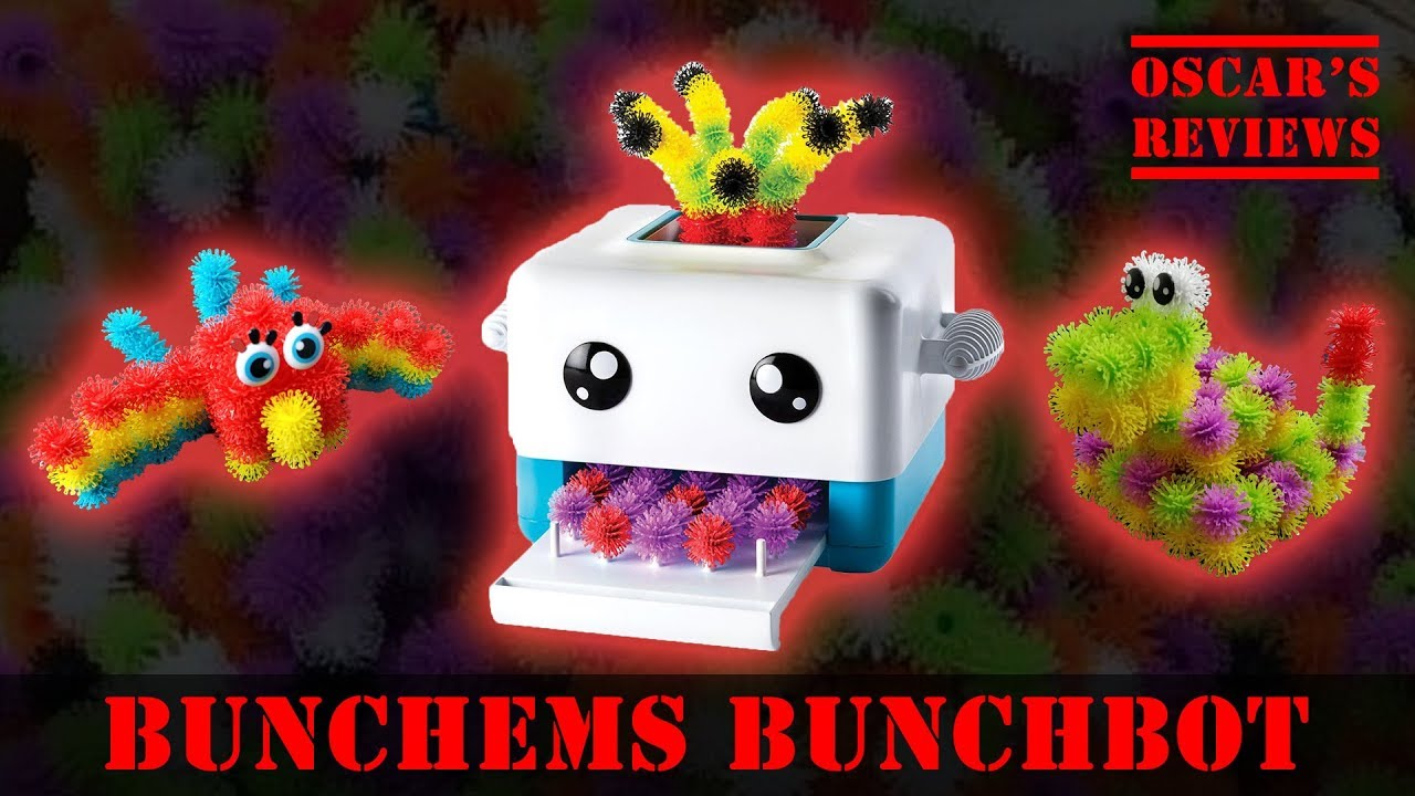 Building a Bunchems Parrot Using the BunchBot – Kids Review and Demonstration