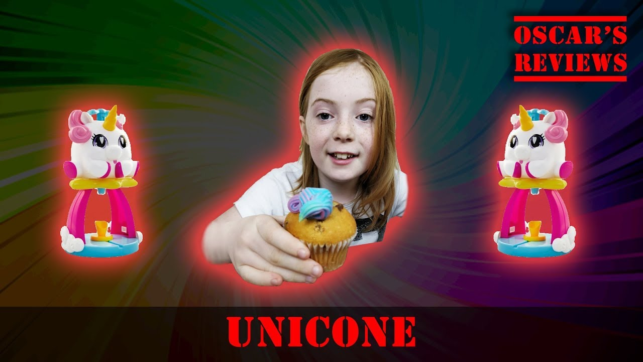 Eating Unicorn Poop With the Unicone Rainbow Swirl Maker