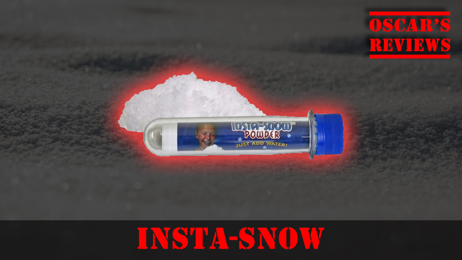 Making Our Own Snow with Insta-Snow