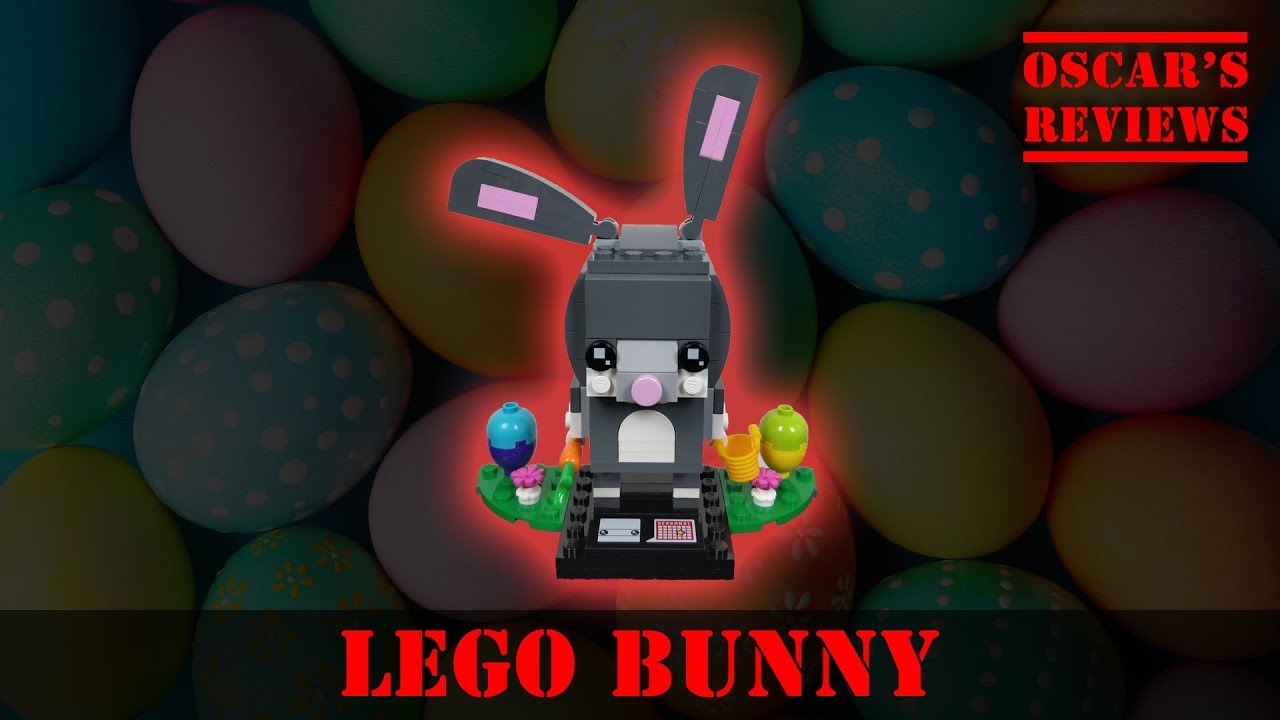 LEGO BrickHeadz Easter Bunny (40271) Seasonal Build and Review