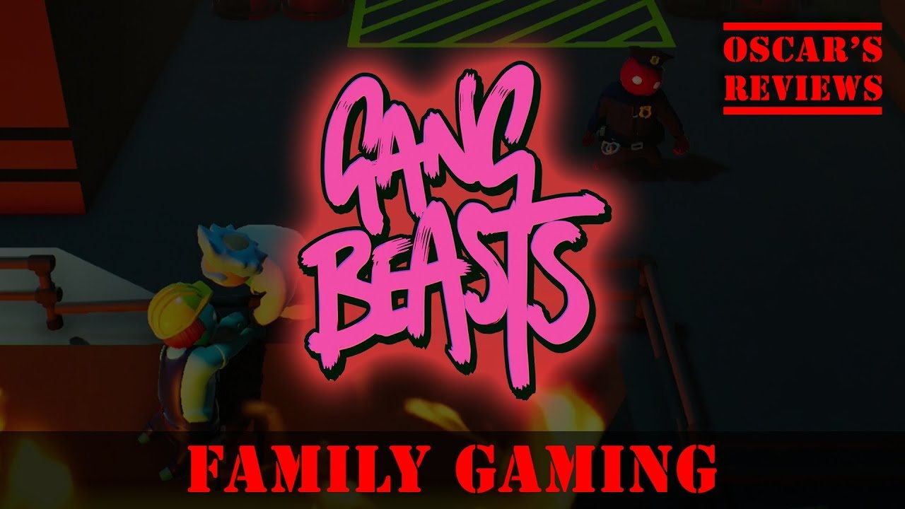 Gang Beasts: Melee – Family Gaming Session With Noobs