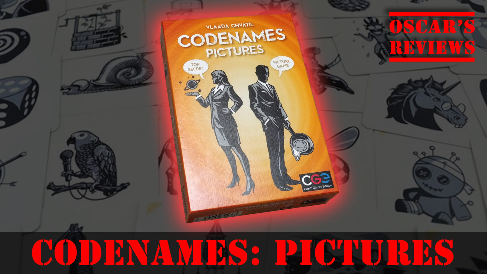 Codenames: Pictures – A Family Game Review
