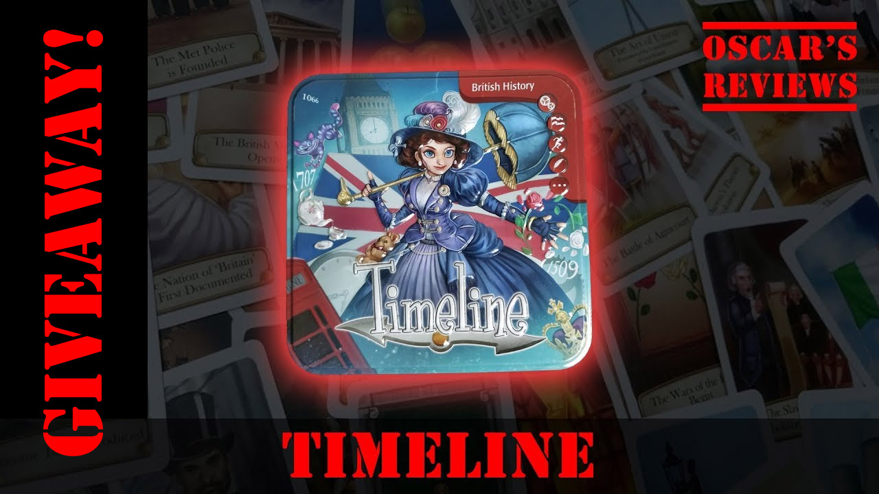GIVEAWAY! Win a Copy of Timeline: British History