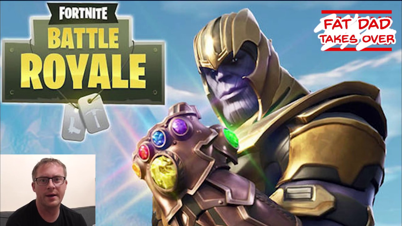 Fortnite: The Hunt for Thanos – Terrible Dad Gamer Tries to Play Fortnite