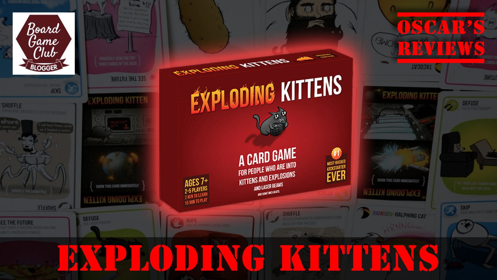 Exploding Kittens – A Family Card Game Review