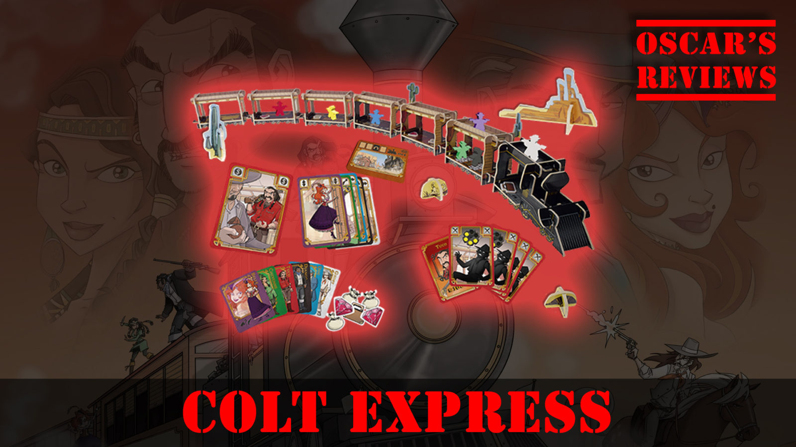 Be The Bandit in Colt Express – A Family Game Review
