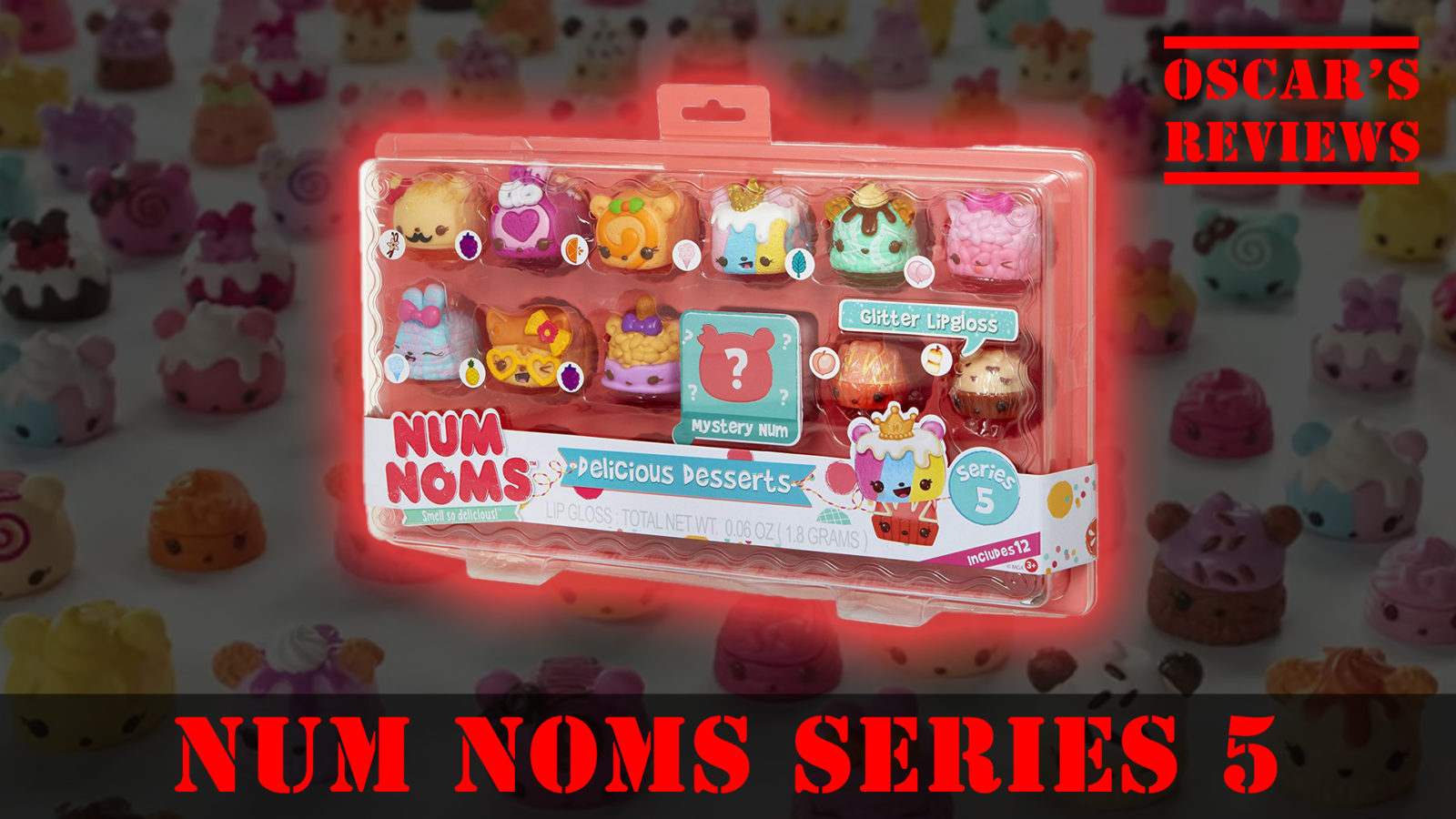 Delicious Deserts: NumNoms Series 5 Review