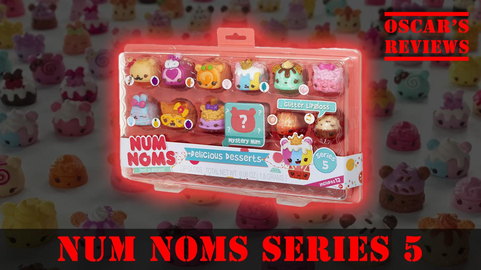 Delicious Deserts: NumNoms Series 5 Review