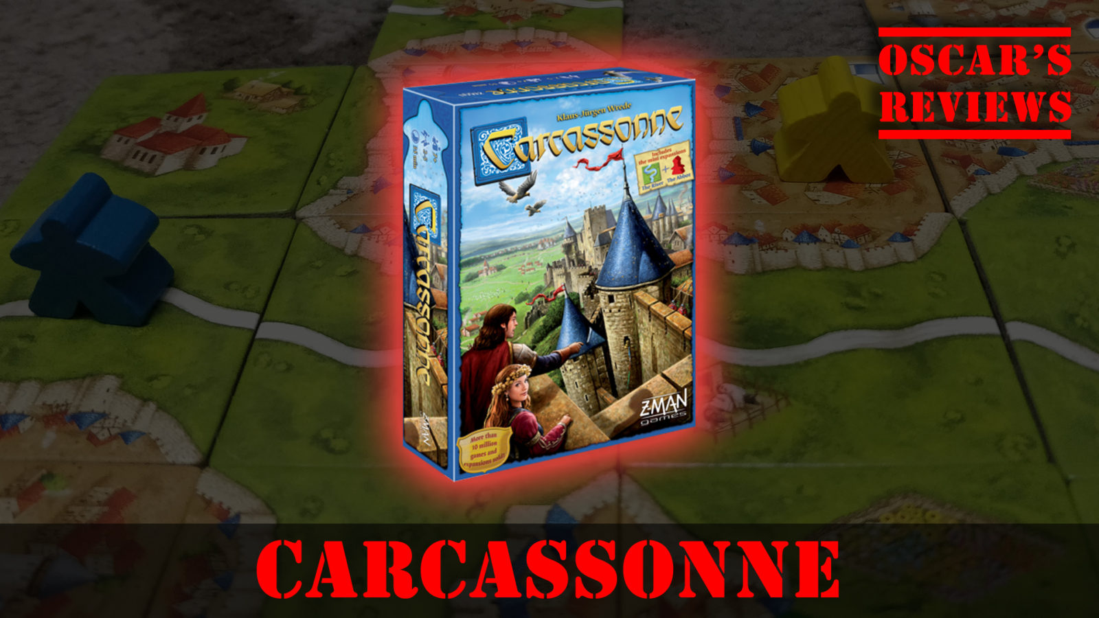 Build a City with Carcassonne – Great Family Board Game